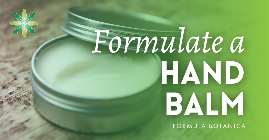 2017-03 Formulate a hand balm