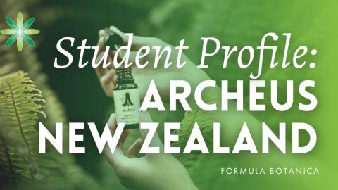 Student Profile: Archeus New Zealand