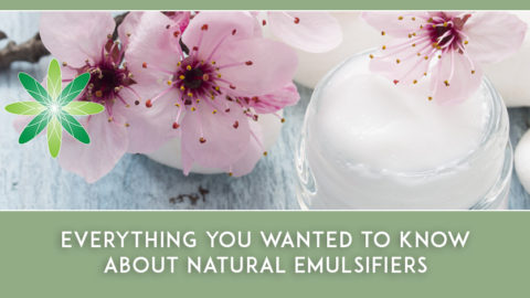 Everything you wanted to know about Organic & Natural Emulsifiers