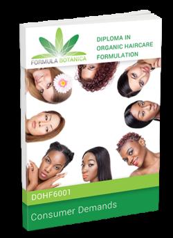 DOHF6001 - Diploma in Organic Haircare Formulation