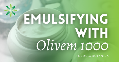 How to make an Organic Oil-in-Water Emulsion with Olivem 1000