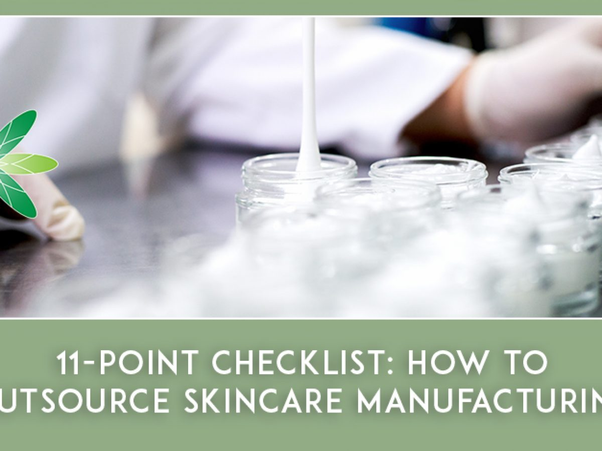 How To Outsource Skincare Manufacturing