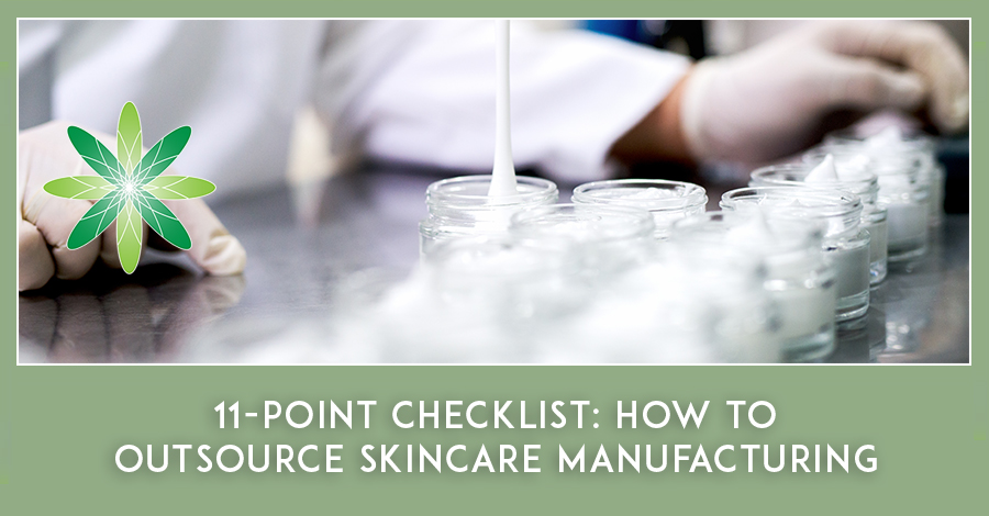 11-Point Checklist: How to outsource Skincare Manufacturing
