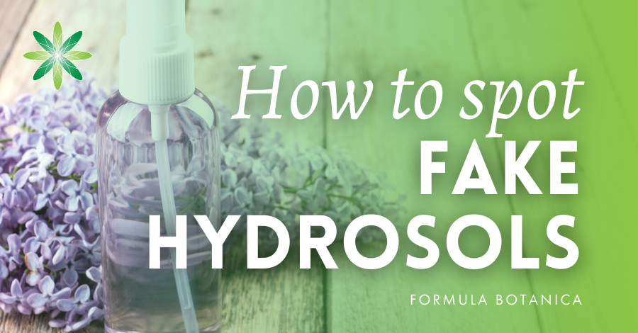 2017-07 How to spot fake hydrosols