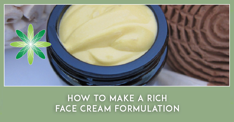 Rich Face Cream Formulation