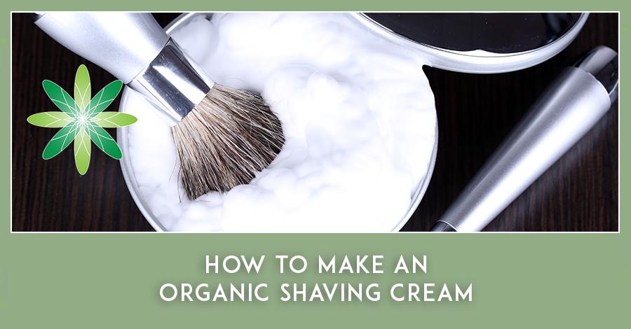Organic Shaving Cream