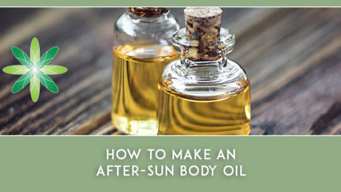 How to Make an After-Sun Body Oil