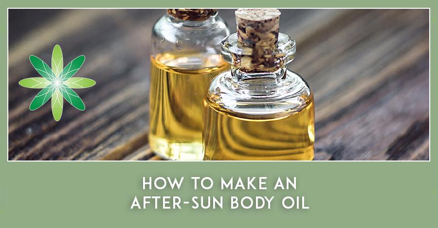 After Sun Body Oil