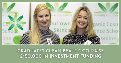 Graduates Clean Beauty Co Raise £150,000 in Investment Funding