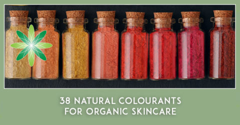 38 Natural Colourants for Organic Skincare