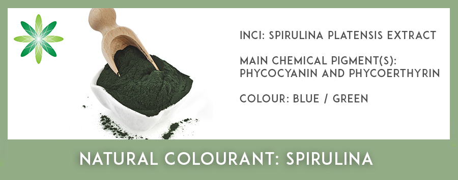 Natural Colourants - Spirulina