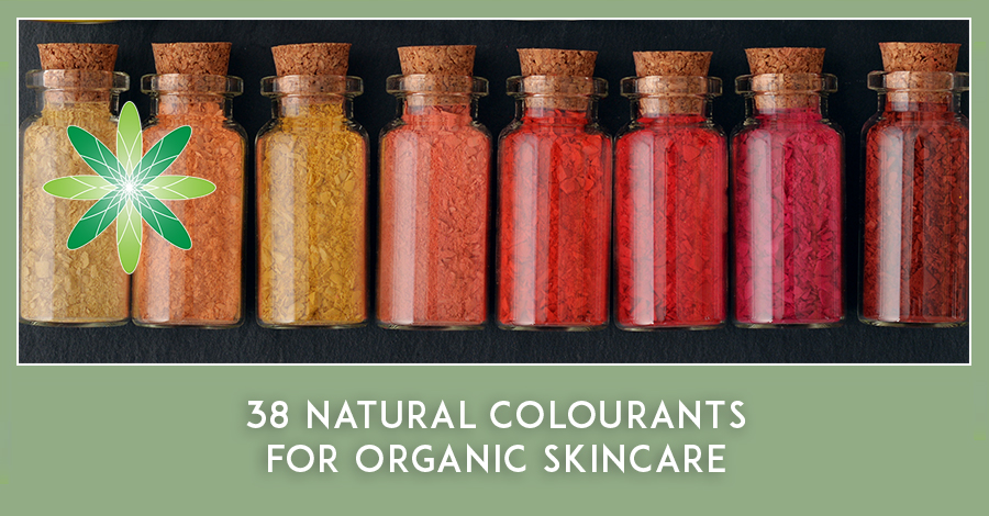 Natural Colourants in Organic Skincare