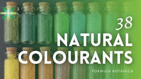 38 Natural Colourants for Organic Skincare