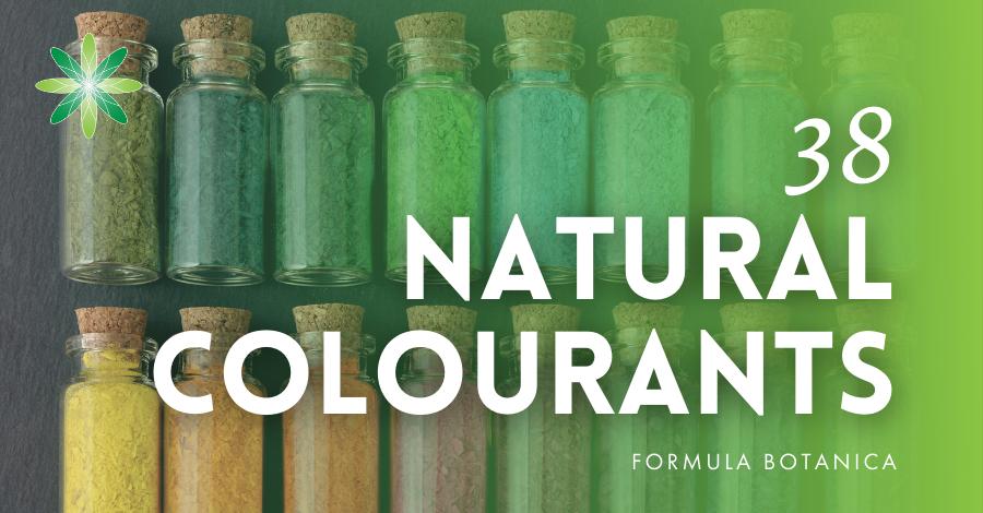 2017-11 Natural colourants