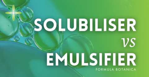 Solubiliser vs Emulsifier: Which one do you need in your formulations?