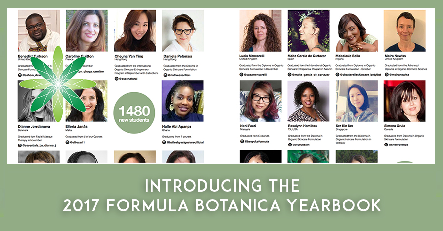 2017 Formula Botanica Yearbook
