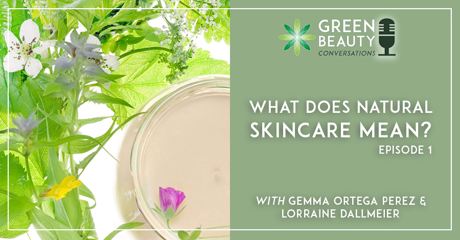 What does natural skincare mean?