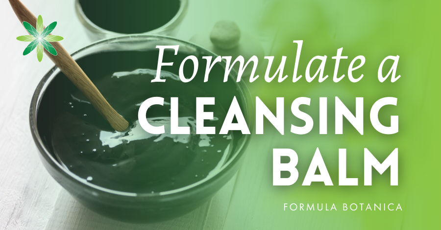 2017-12 Formulate a natural cleansing balm