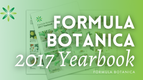 Introducing our 2017 Formula Botanica Yearbook