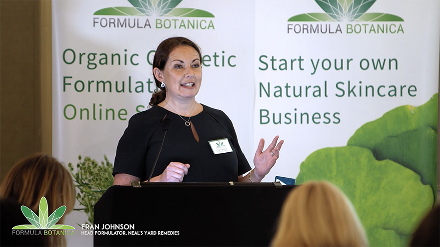Formula Botanica 2017 Conference - Fran Johnson
