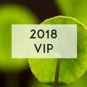 2018 Formula Botanica Conference - VIP