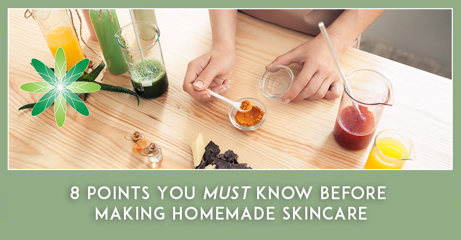 Making Homemade Skincare
