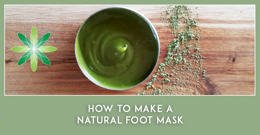 How to make a Natural Foot Mask