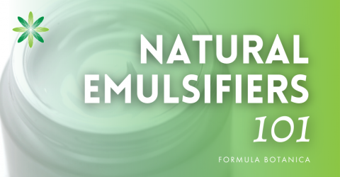 Everything You Wanted To Know About Natural Emulsifiers