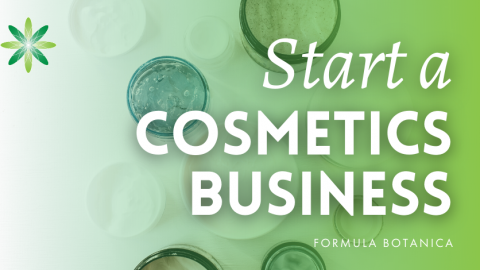 Starting a Cosmetic Business at Home