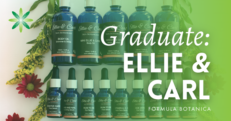 2018-05 Formula Botanica graduate Ellie and Carl