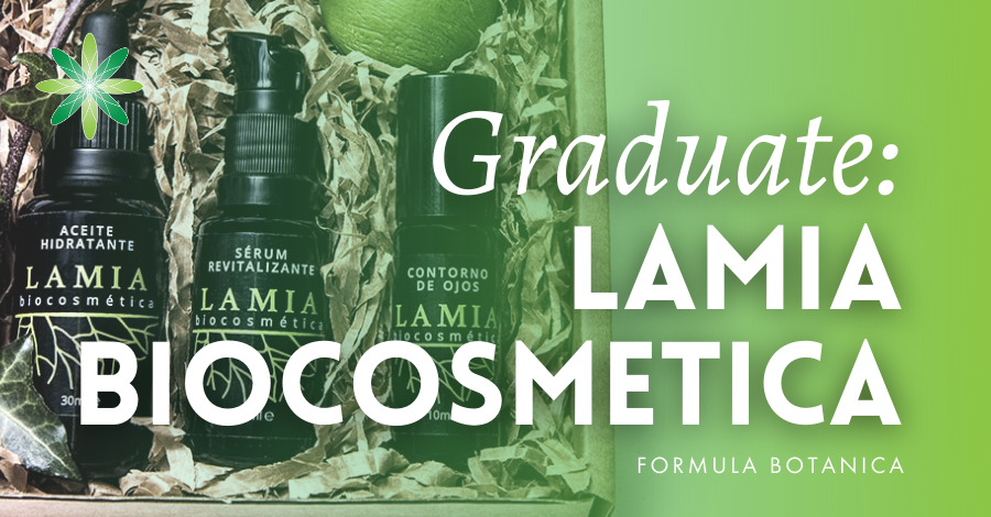 2018-07 Formula Botanica graduate Lamia Biocosmetica