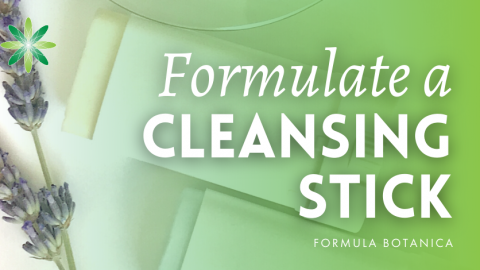 How to make a Facial Cleansing Stick