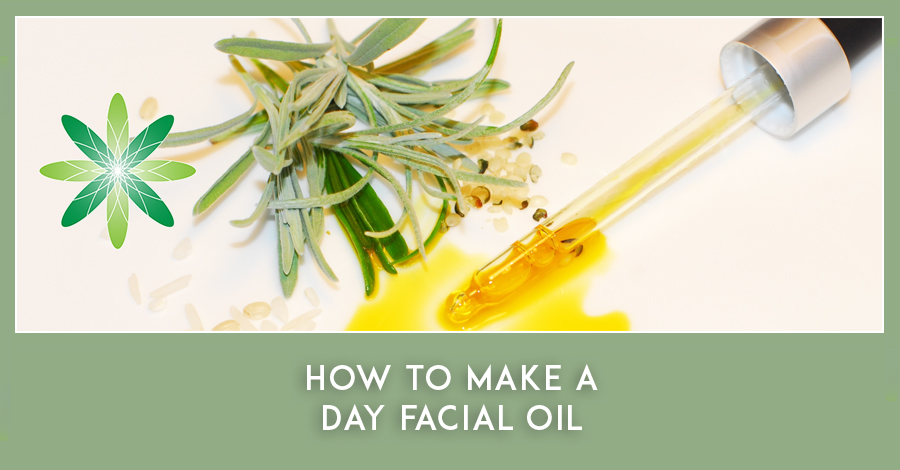 How to Make a Day Facial Oil - sample formula