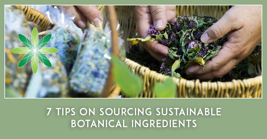 Sustainable Botanical Ingredients for Skincare