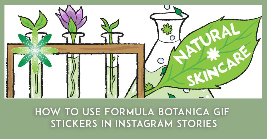 Formula Botanica GIF Stickers