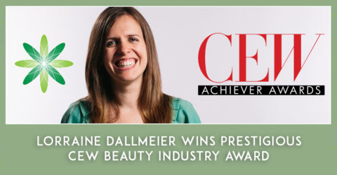 Lorraine Dallmeier wins prestigious CEW beauty industry award