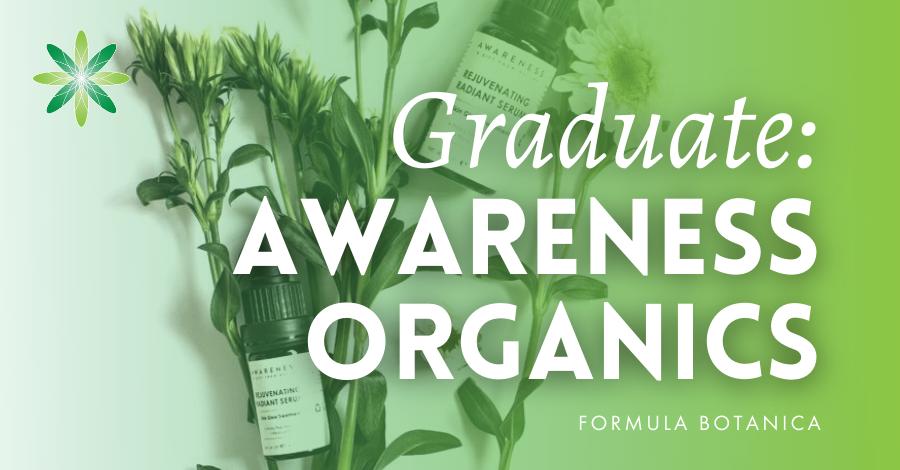 2018-10 Formula Botanica graduate Awareness Organics