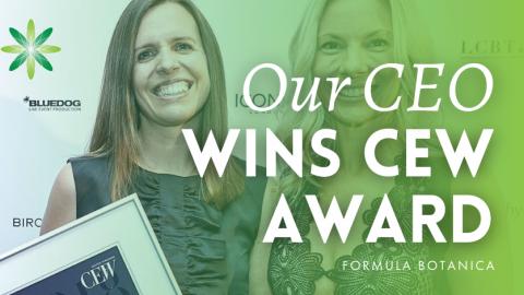 Lorraine Dallmeier wins prestigious CEW beauty industry award