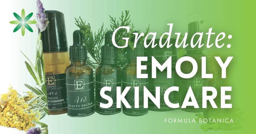 2018-11 Formula Botanica graduate Emoly Skincare