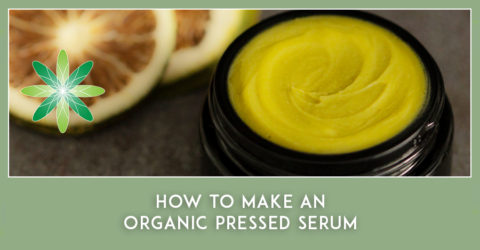 How to Make a Pressed Organic Face Serum