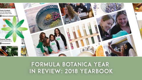 Formula Botanica Year in Review: 2018 Yearbook