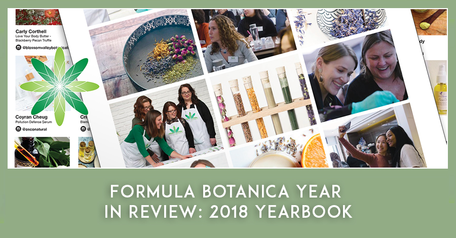 Formula Botanica 2018 Yearbook
