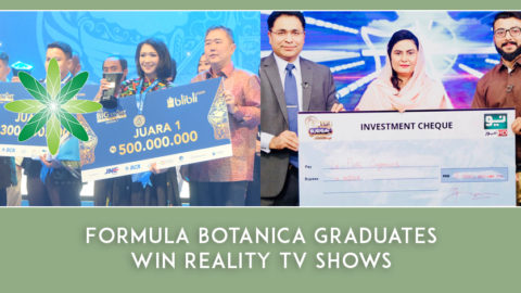 Formula Botanica Graduates Win Reality TV Shows