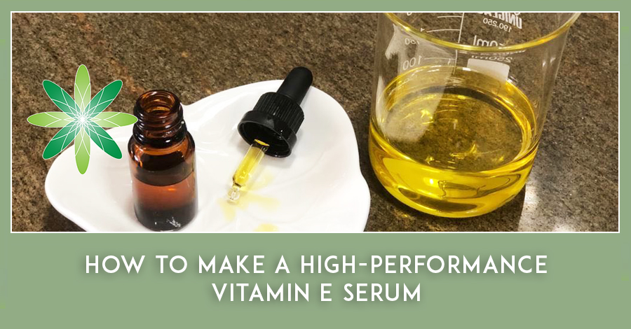 how to make an anti-ageing vitamin E serum