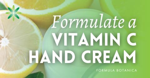 How to Make a Vitamin C Anti-ageing Hand Cream