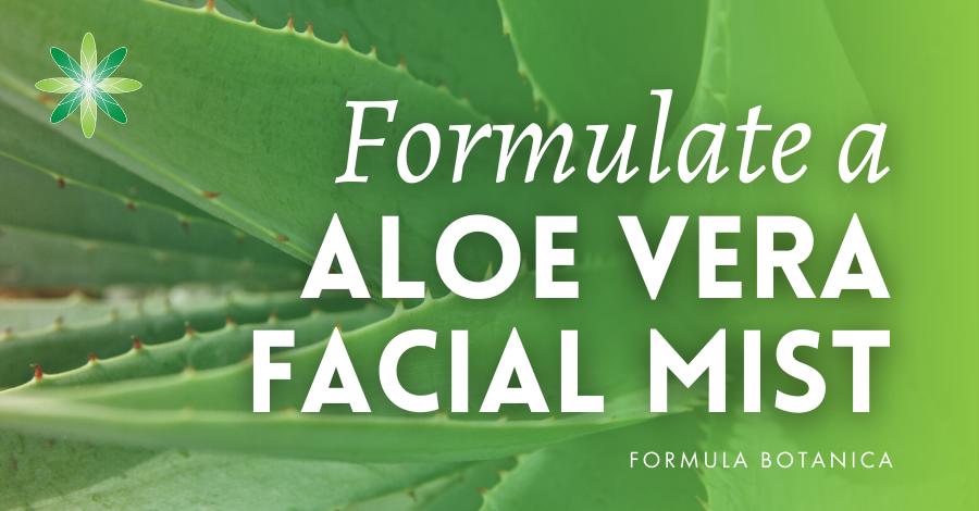 2019-01 Aloe Vera Mist formulation