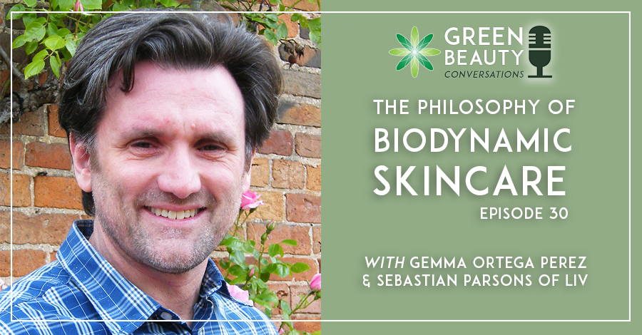 Sebastian Parsons, Liv, on biodynamic skincare