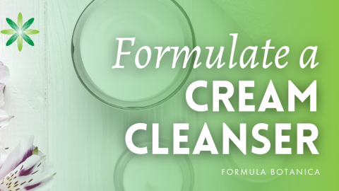 How To Make a Natural Cream Cleanser with PolyAquol 2W