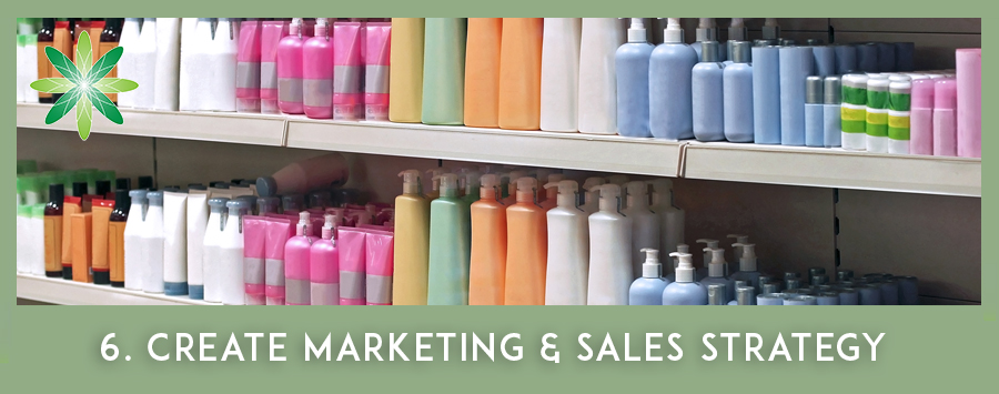Start a Cosmetic Business at Home: sales and marketing strategy