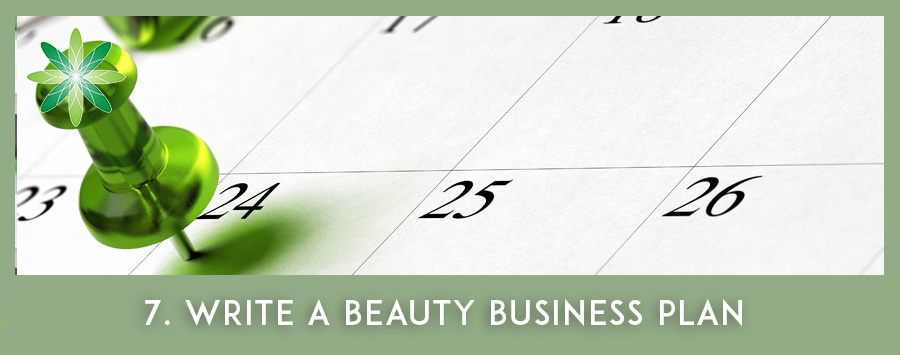 Write your Beauty Business Plan
